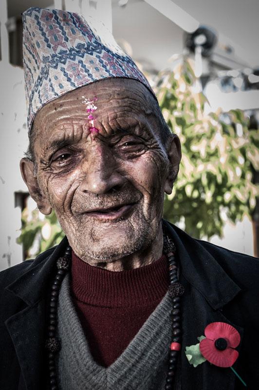 Ex Rifleman Manbahadur Ghimire