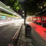 The vibrant side street