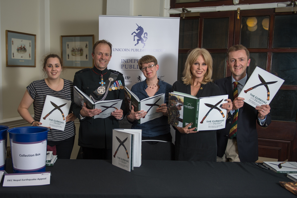 Joanna Lumley at the Book Launch