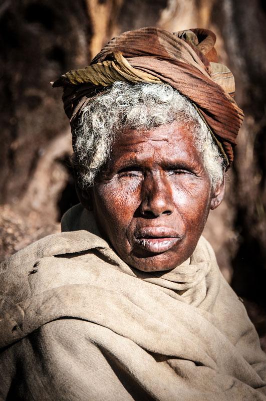 Blind Woman, Lalibela