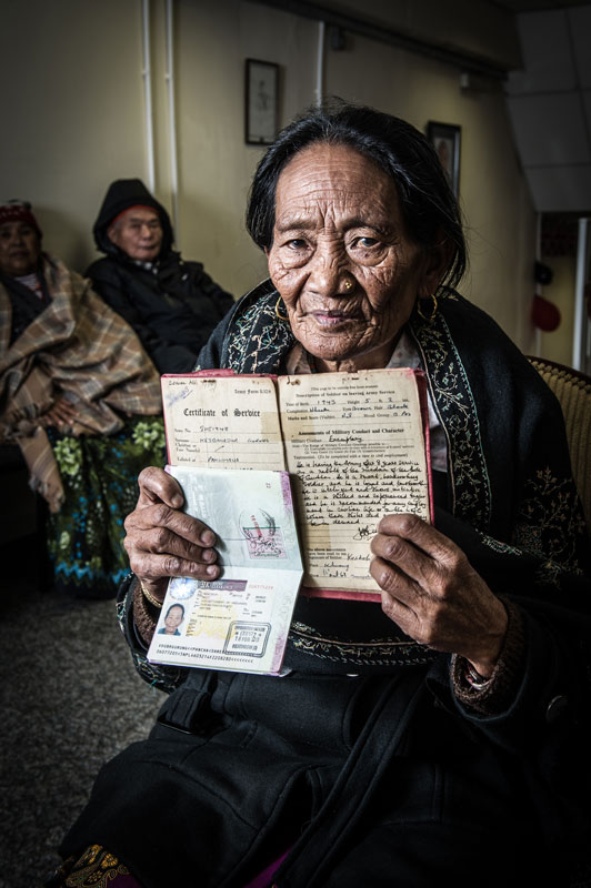 Welfare Widow from Bhujung