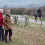 Clare with Trainer, Bob Buckler