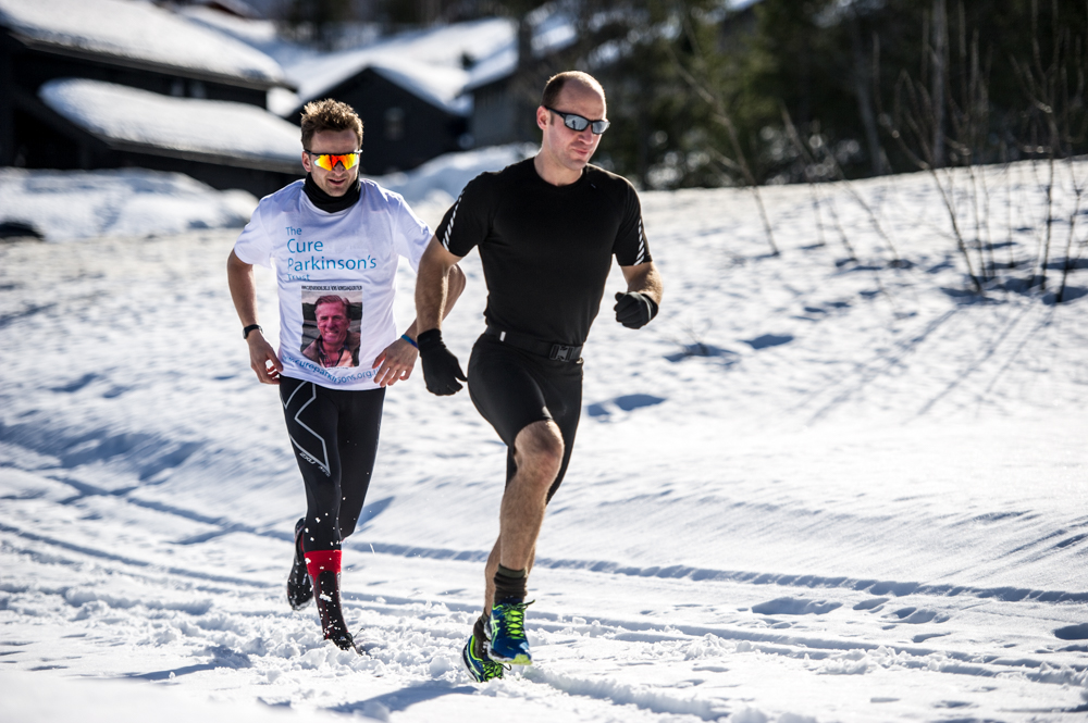 Snow-running training