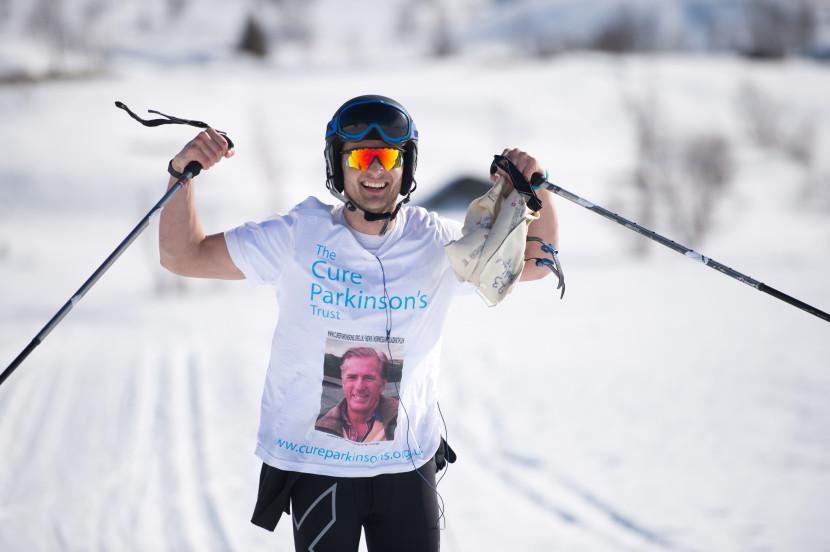 Rich - raising money for Parkinson's