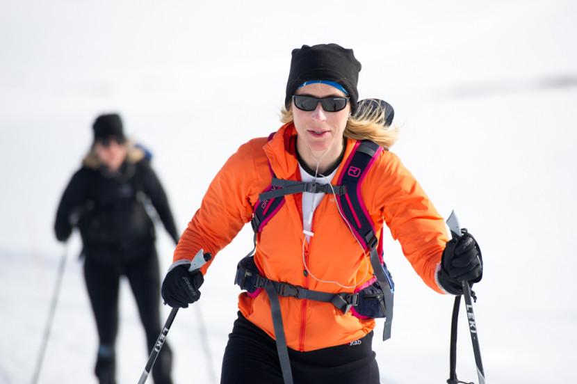 Ski-touring training