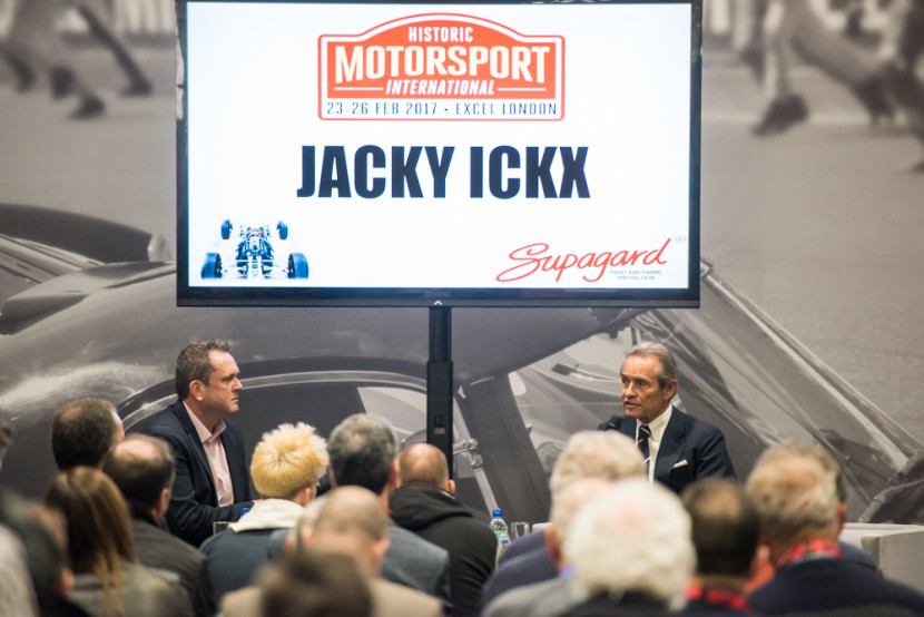 The Ickx show!