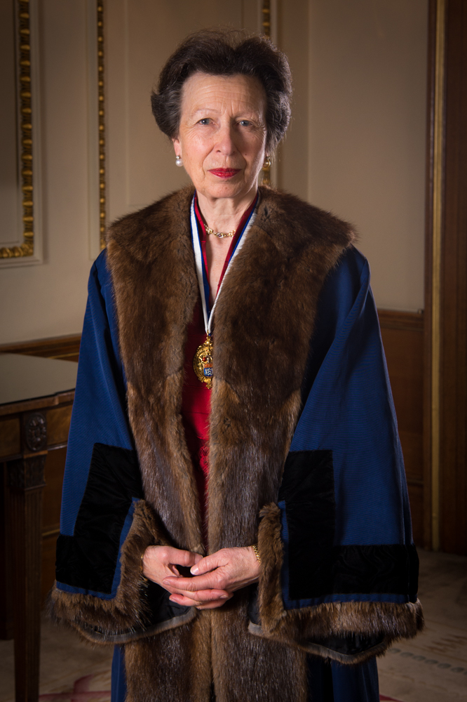 The Princess Royal as Prime Warden to the Fishmongers' Company