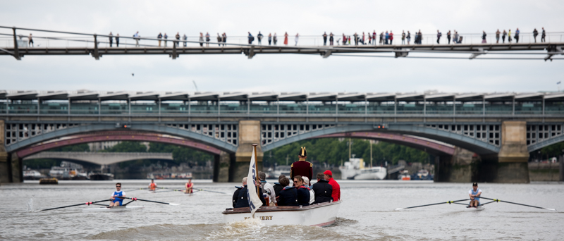 Doggett's Boat Race on the Thames