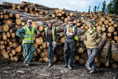 At the Estate sawmill