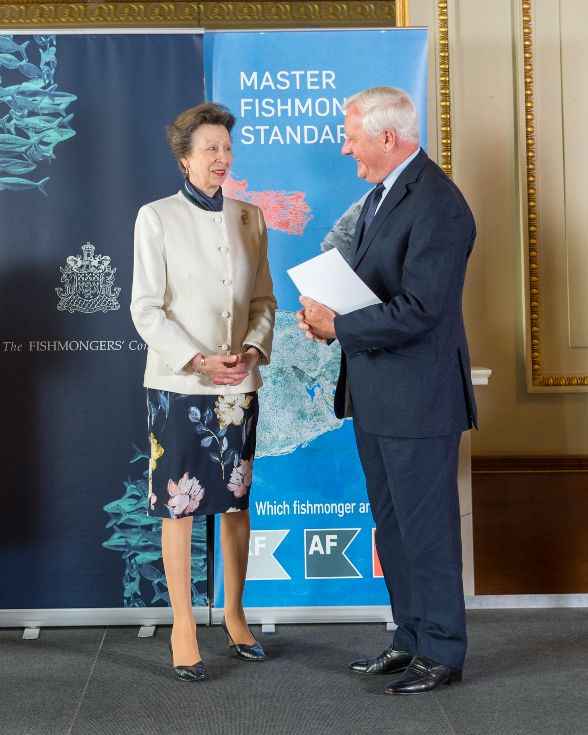 Presenting the Master Fishmongers' Awards