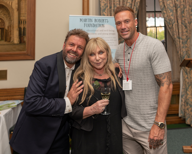 Supported by Calum Best and Helen Lederer